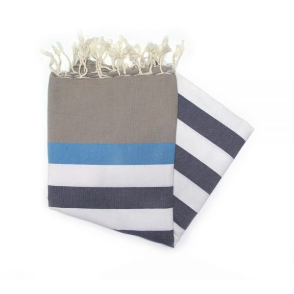 Bali Blue Hammam towels are fantastic for the beach