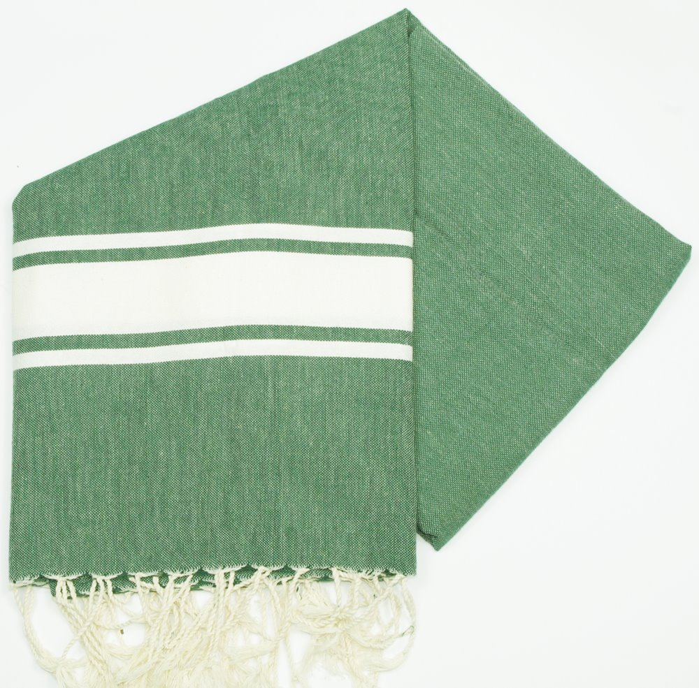 Maldives Green Hammam Towels