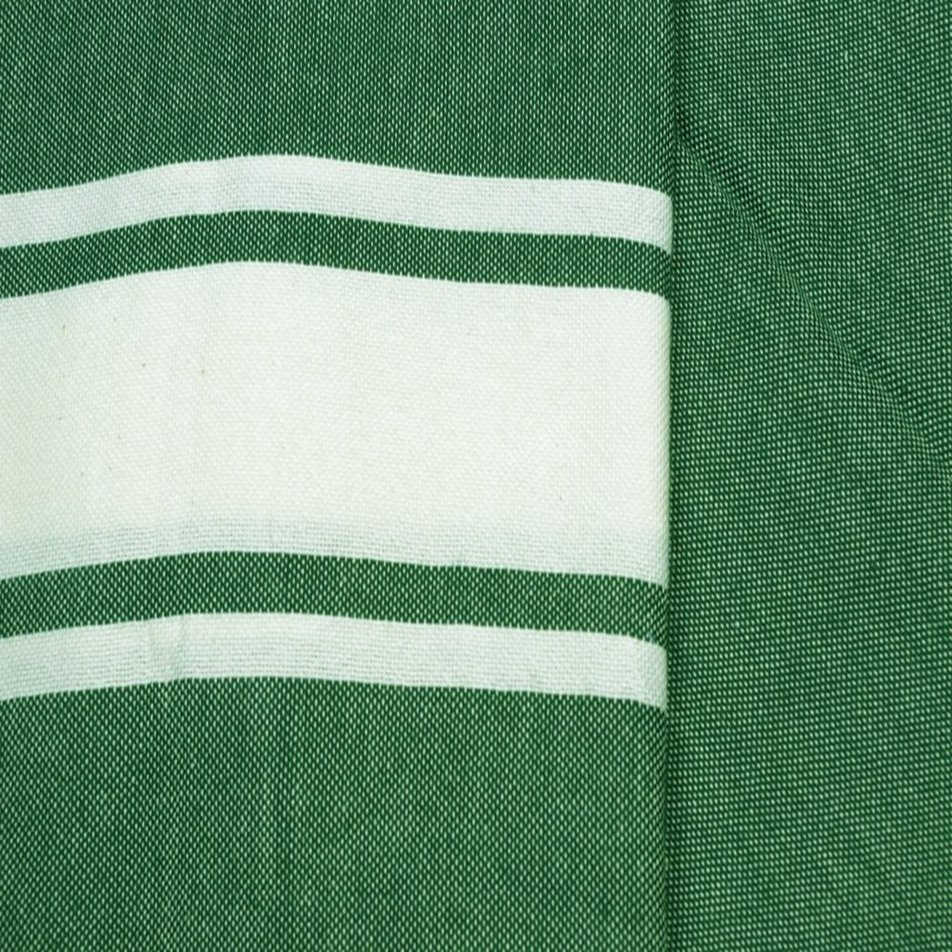 Maldives D Green1 Hammam Towels Swatch