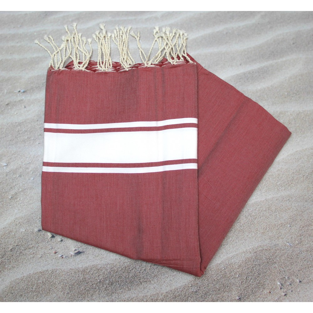Maldives Rouge Hammam Towels