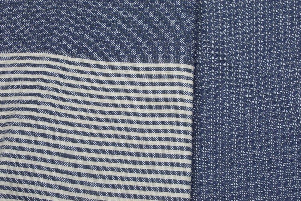Zanzibar Navy Hammam Towels