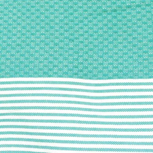 Zanzibar Teal 100% Cotton Hammam Towels