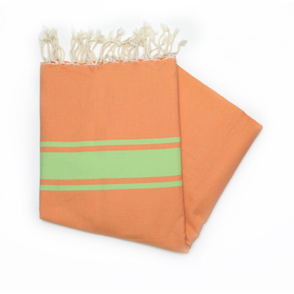 Maldives Orange Hammam Towel
