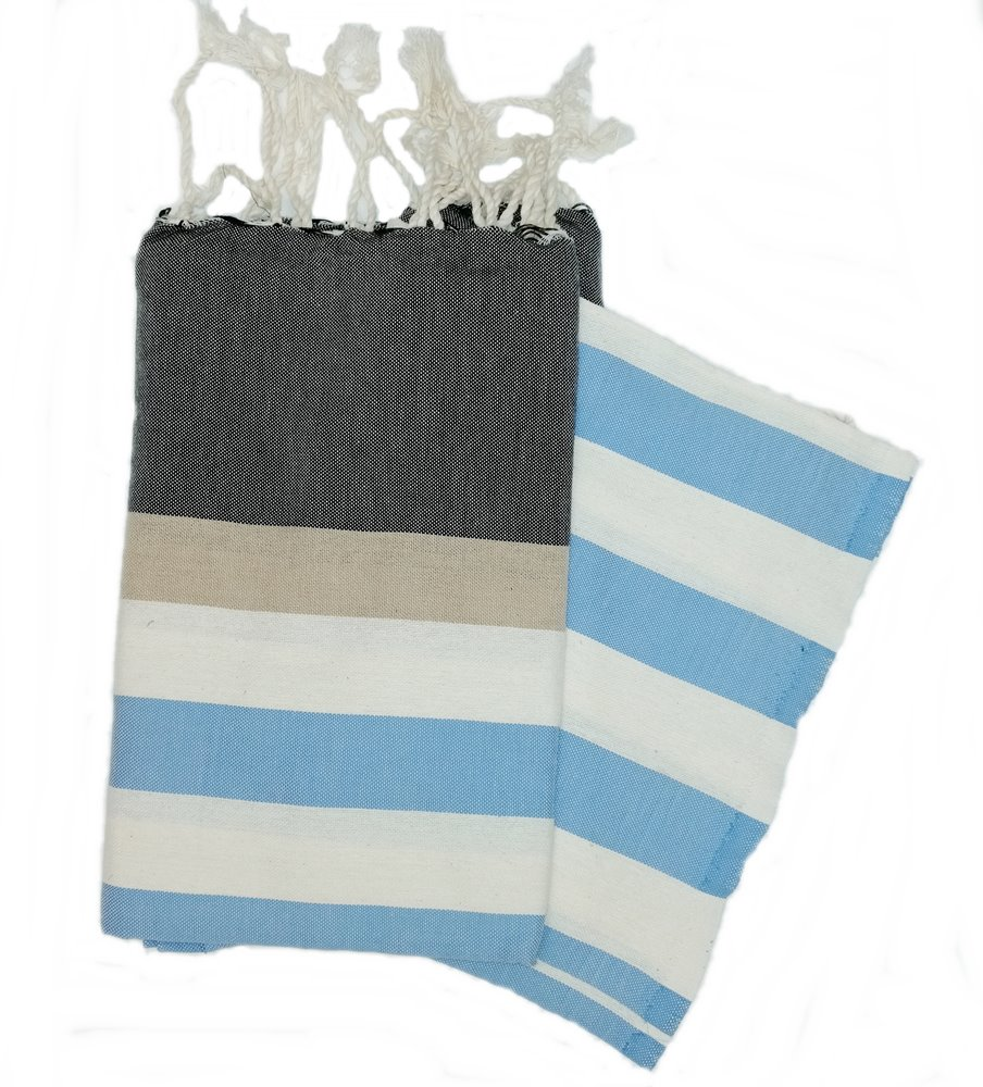Bali Charcoal 100% Cotton Swimming Towels