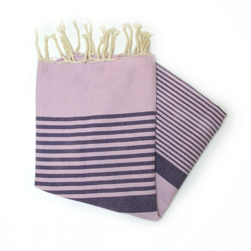 Dorset Violet Beach Towel