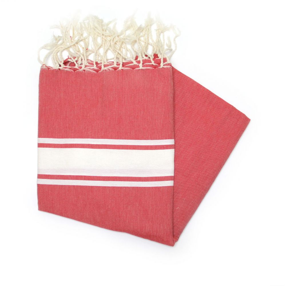 Maldives Crimson Hammam Towel