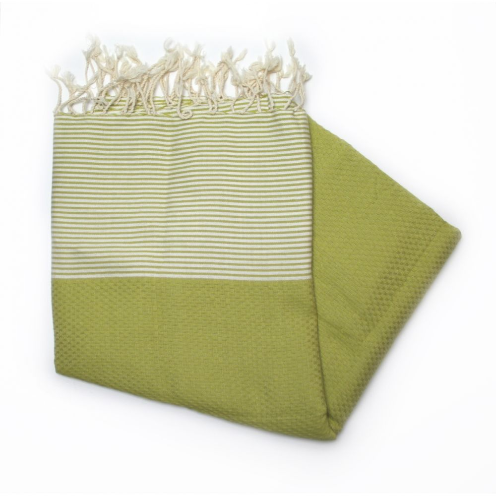 Zanzibar Apple Green Hammam Towel