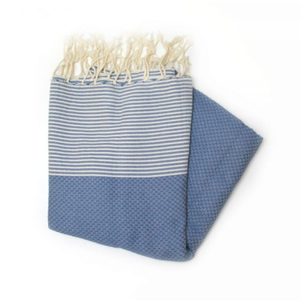 Zanzibar Blue Hammam Towels for spas