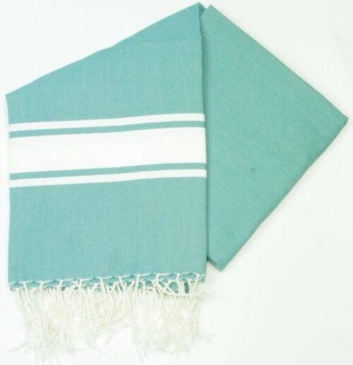 Maldives Teal Hammam Towels For The Beach