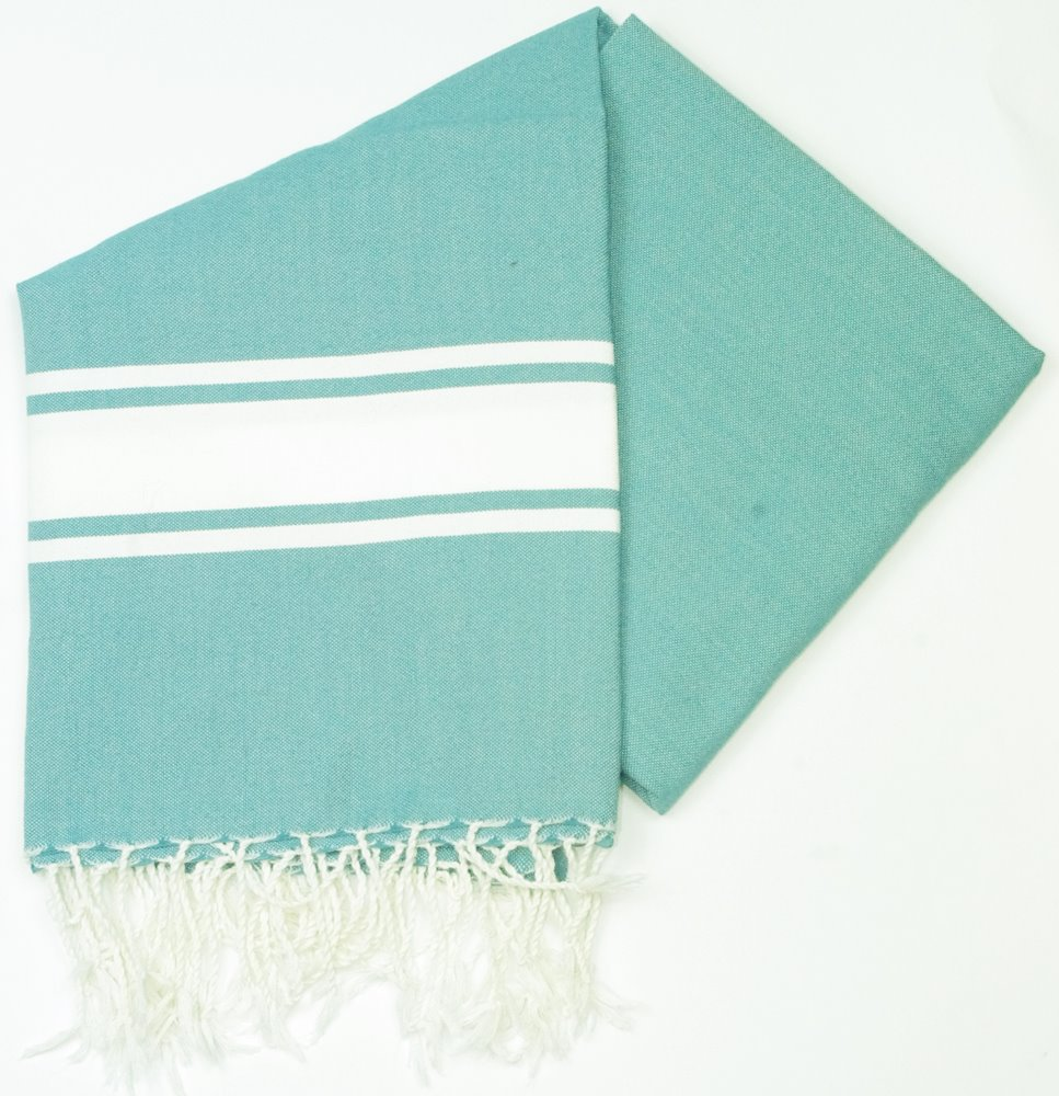 Maldives Teal Hammam Towels For The Beach