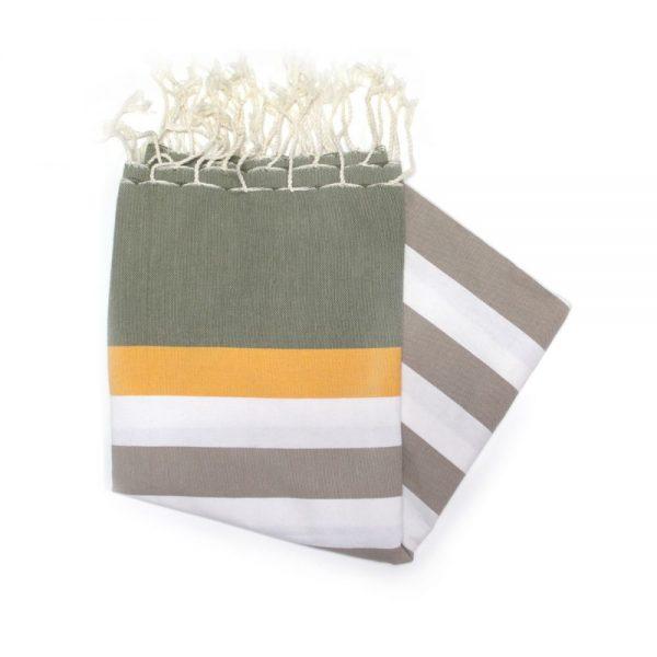 Bali Orange hammam towels fantastic for the beach
