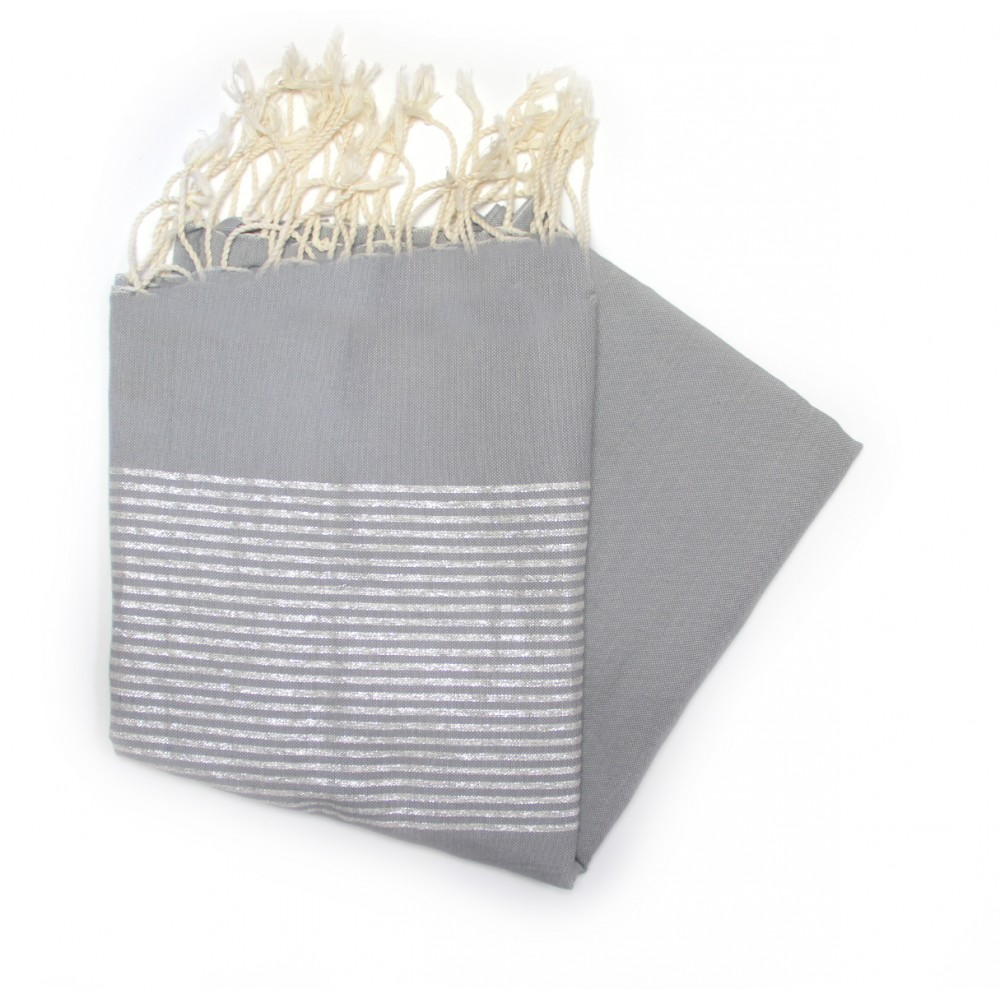 Grey Lux Hammam Towel