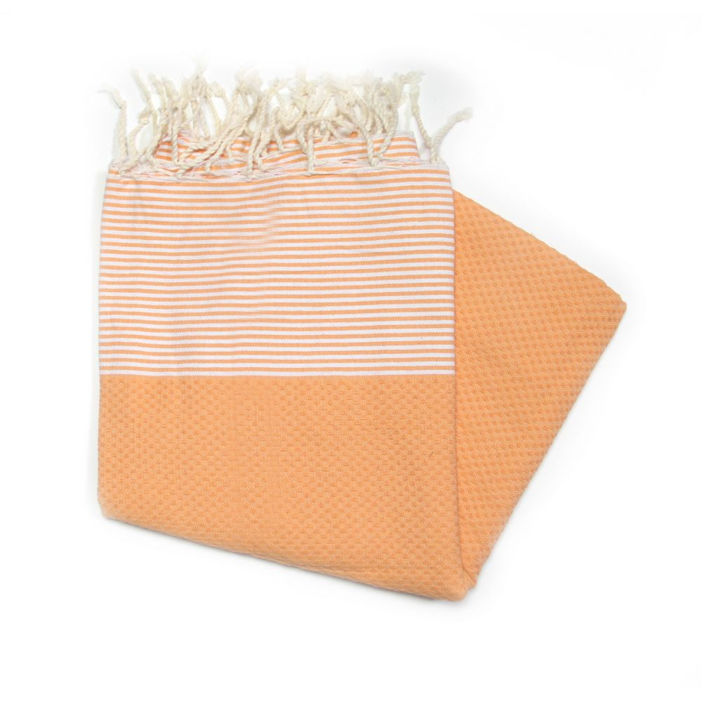 Zanzibar Mandarin 100% Cotton Swimming Towels