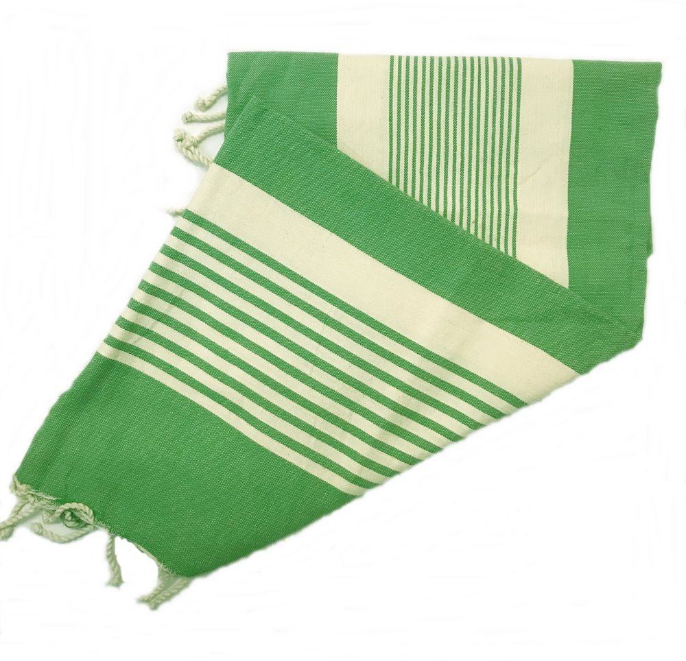 Dorset Green Fouta Towels Are Ideal For The Beach