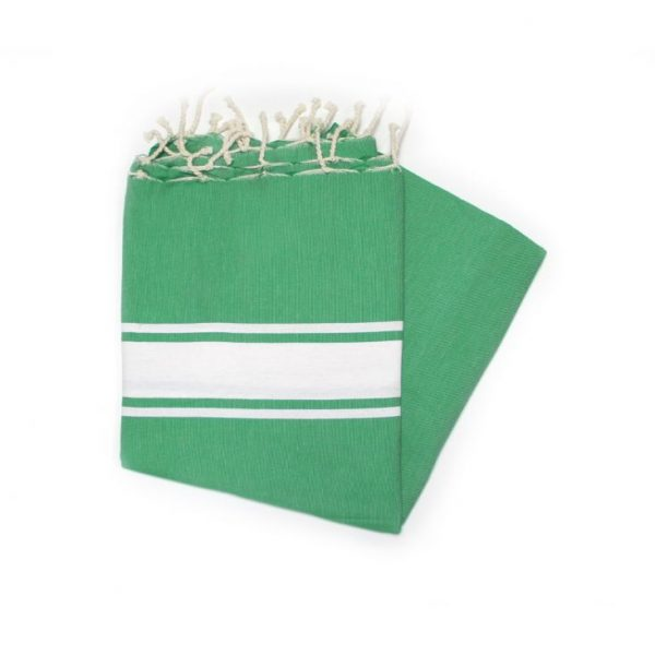 Maldives Green Fouta swimming Towels ideal for the beach