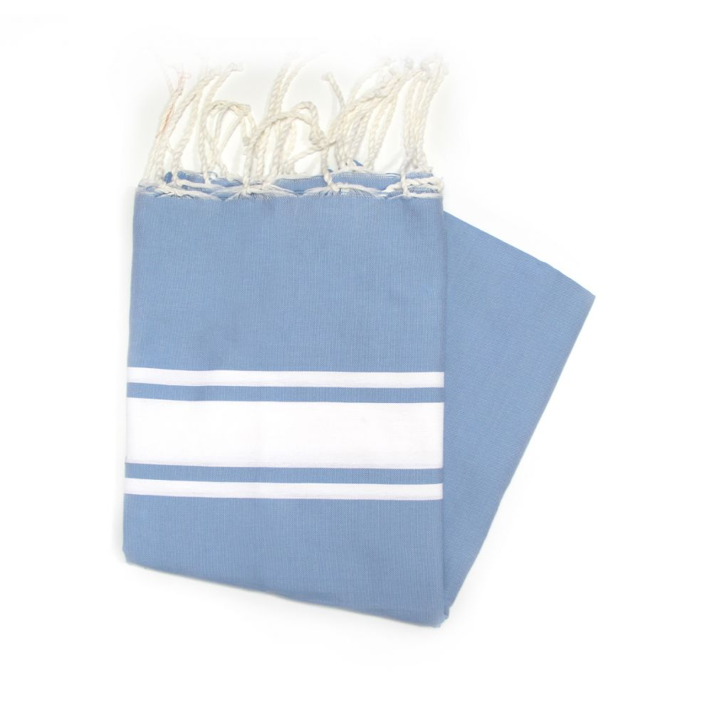 Maldives Light Blue Hammam Towel Ideal For The Beach