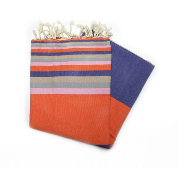 Mali Orange 2 camping towel