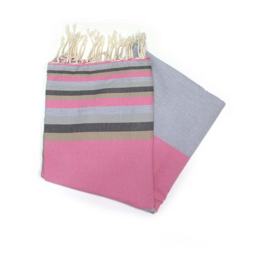Mali Pink Hammam Towels Ideal For Travelling With
