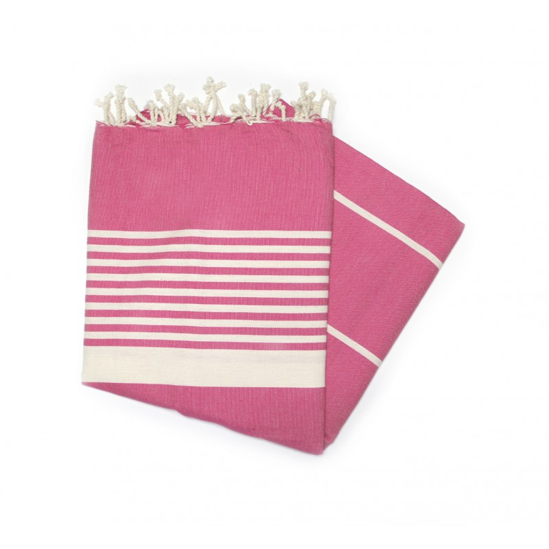 Dorset Fuchsia Hammam Towels Great As Deck Towels