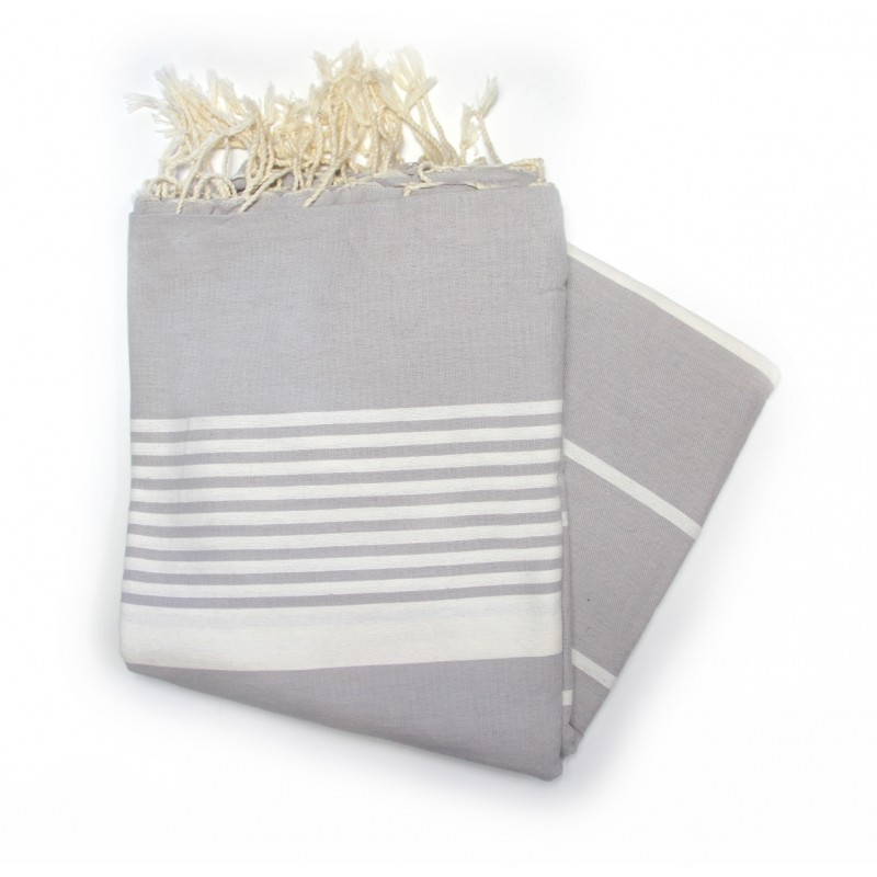Grande Grey XL Hammam Towel