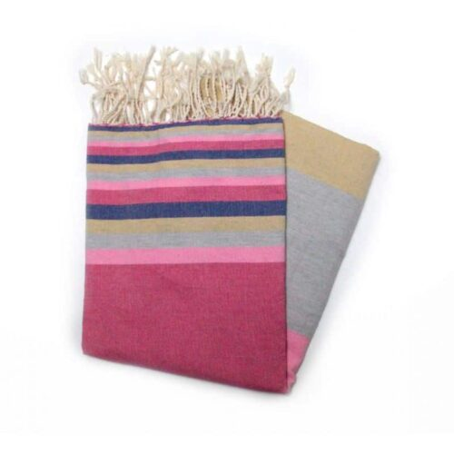 Mali Red Hammam Towel Ideal For The Beach