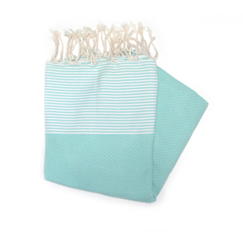 Zanzibar Turquoise Camping Towel