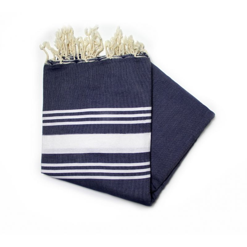 Trinidad Grande Navy Beach Towel