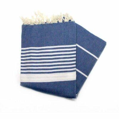 Dorset Ocean Blue XL XXL Hammam Towel